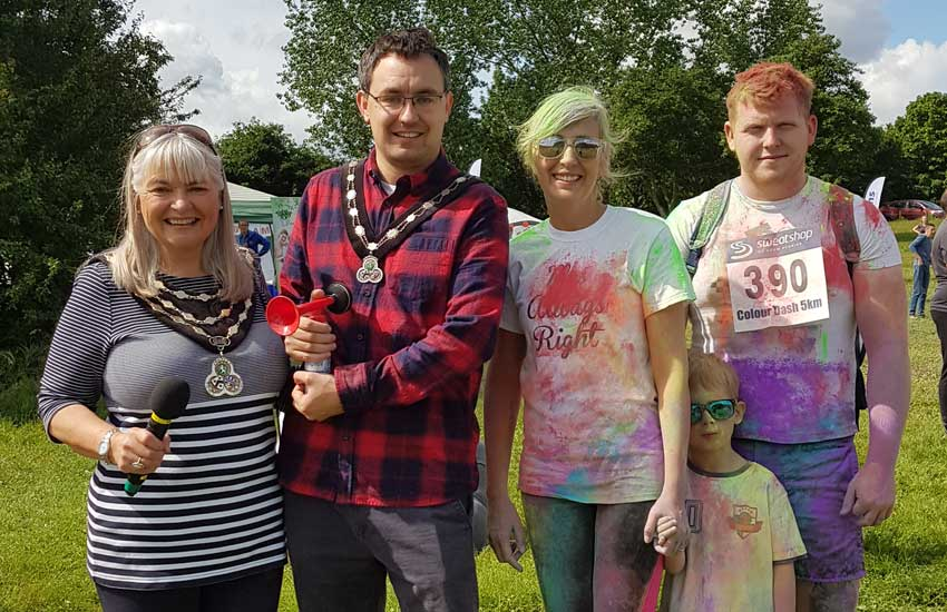 Swanley Park Charity Colour Dash Image 1