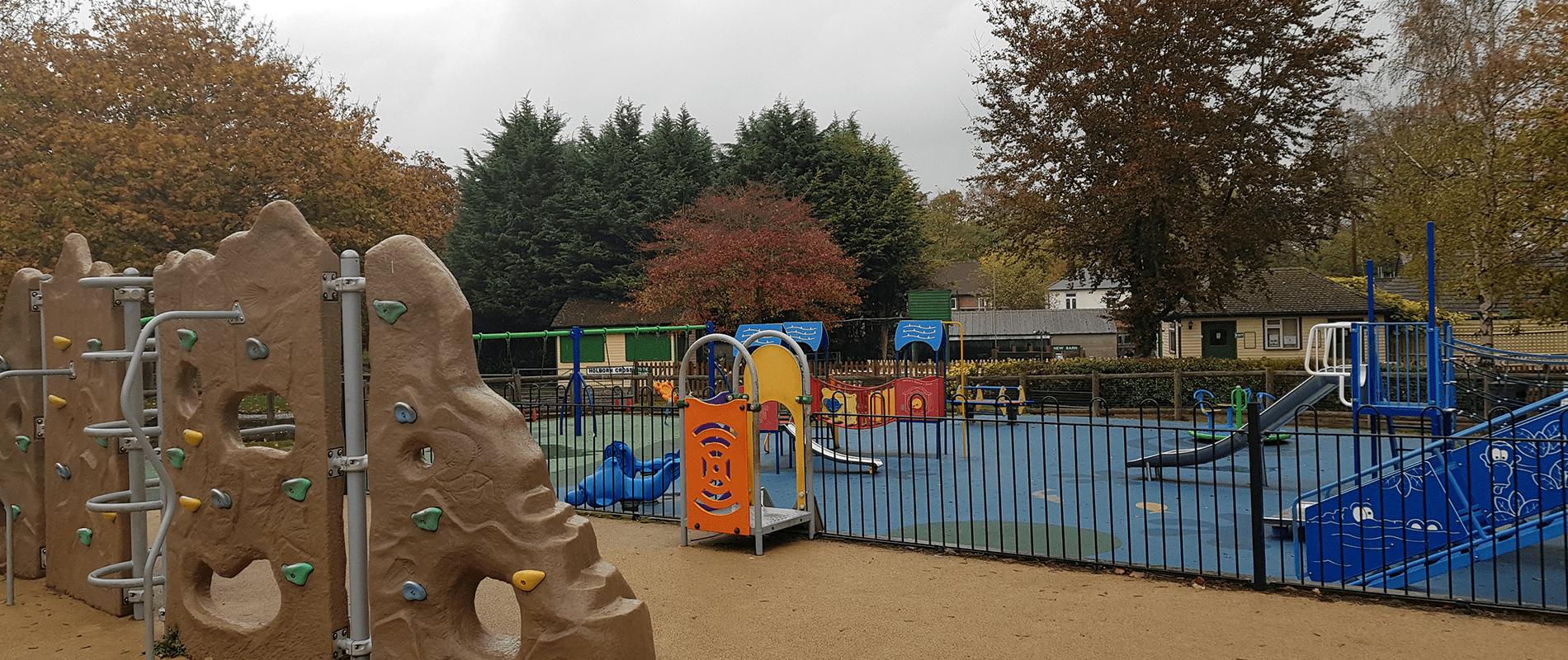 Play Park Climbing Wall