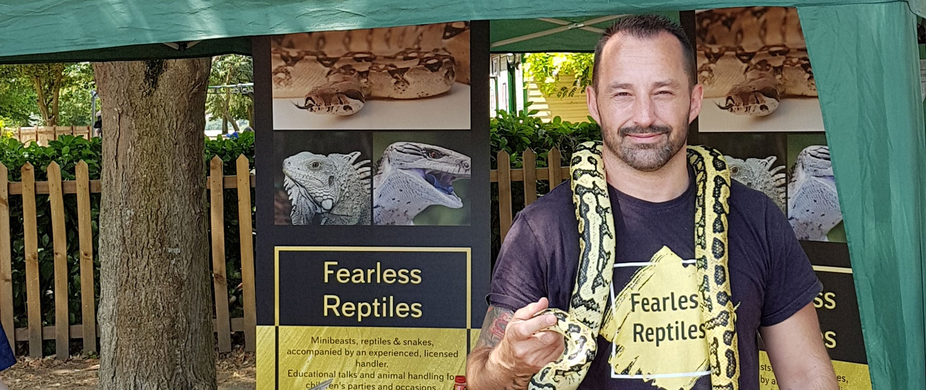 Fearless Reptiles