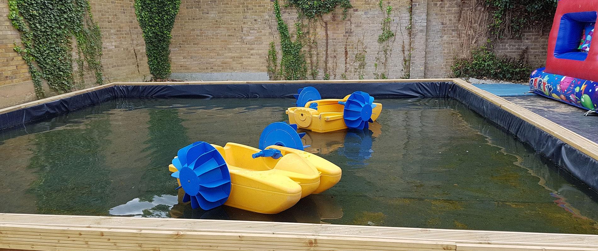 Small Paddle Boats